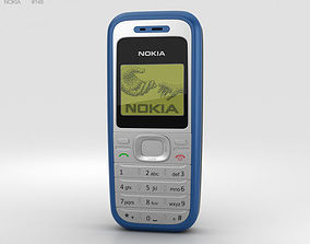 electronics Nokia 1200 Blue 3D model