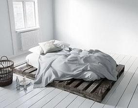 3D model bed 20 am164