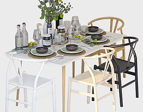 Tableware minimalistic 3D