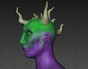 Demon Head - 3D