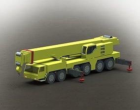 Liebherr Mobile Crane LTM-1250 3D model