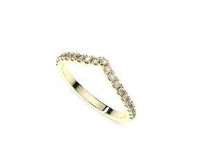 WEDDING RING MY064 3D print model