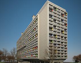 3D Unite Habitation Marseille
