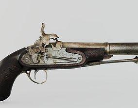 OLD GUN 3D model antique