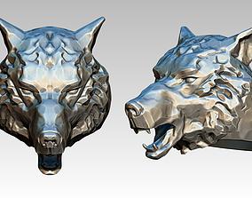 3D print model Alpha male Wolf Ring