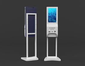Hand Sanitizer Dispenser sanitizer 3D model