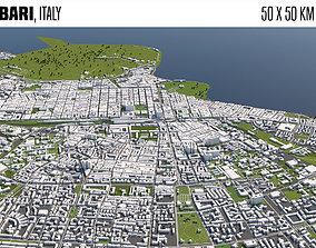 bari 3D model Bari Italy