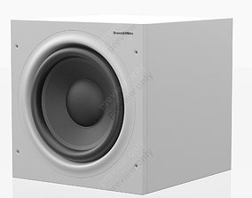 3D Bowers and Wilkins ASW 610 White