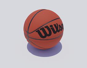 3D asset VR / AR ready Basketball game