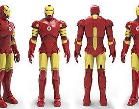 3D model realtime Iron man