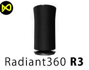 3D Samsung Radiant360 R3 Wireless Speake