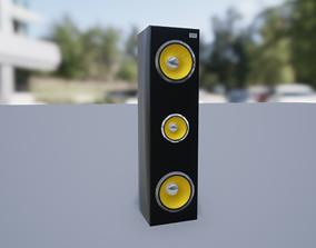 Speaker 3D asset