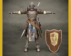 old armor 3D model