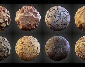 Stylized Great Desert Materials 3D