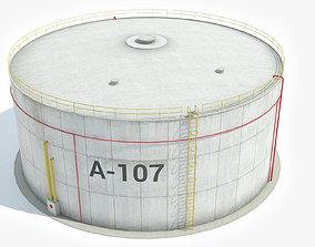 Storage Silo 3D model