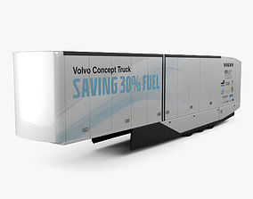 Volvo FH Semi Trailer 2016 3D model
