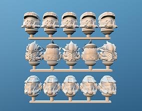 3D printable model space spartan soldiers