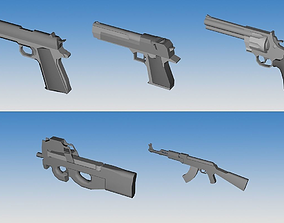 Weapons Collection 03 3D model