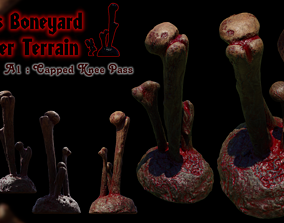 3D print Scatter terrain Giants Boneyard