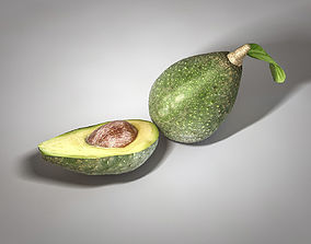 Avocado 3D model realtime