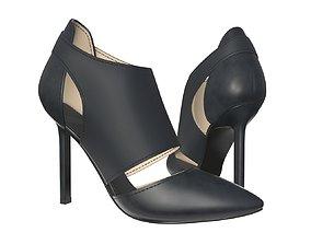 Female footwear 02 3D model