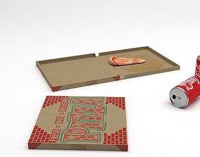 fbx Pizza 3D model