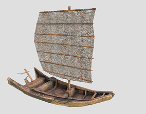 sailboat 3D asset realtime