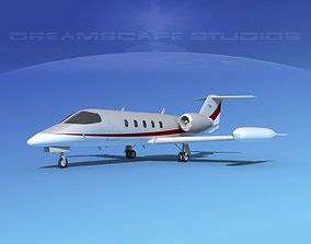 Gates Learjet 35 V11 3D model