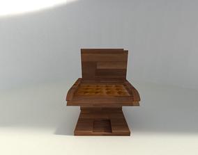 3D model Chair Designed for older people