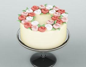 3D chocolate candy Cake