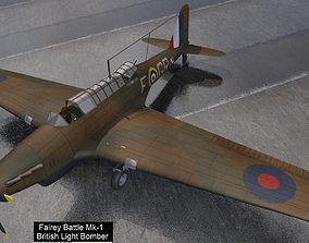 Fairey Battle Mk-1 3D