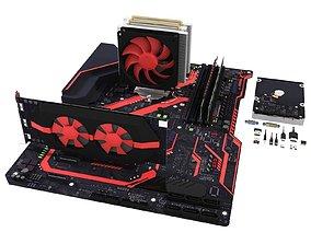 3D model hard Computer
