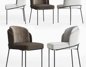 3D model Minotti Fil noir Dining chair