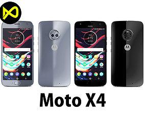 Motorola Moto X4 All Colors 3D model