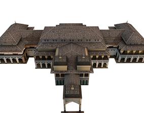 Istana Maimun Medan maimoon palace 3D model