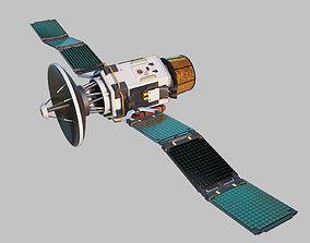 3D asset rigged satellite