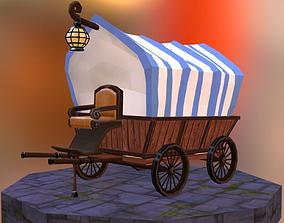 3D asset VR / AR ready Coach