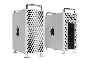 New Mac Pro 3D model