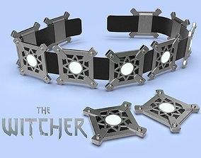 Cyberpunk The Witcher Ciri belt 3d model for print