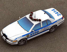Police Car NYPD 3D asset