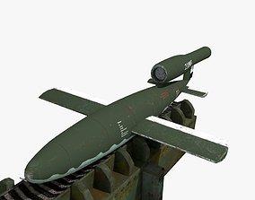 V-1 Flying bomb 3D model