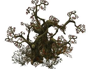 Low Poly Dead Tree Set 3D model