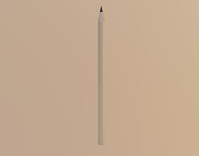 3D asset Pencil - Low Poly