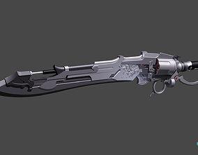 3D print model Thancred Gunbreaker Lion Heart cosplay