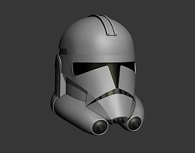 3D print model Phase 2 Clone Wars Series Cosplay Helmet