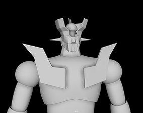 mazinger 3d printed model