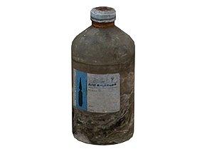 Old Drugs Bottle 01 02 3D model