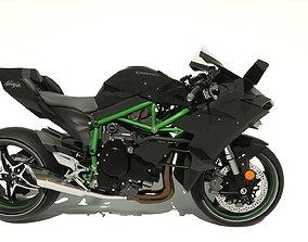 3D model Kawasaki Ninja H2R