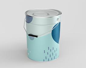 20L - Paint Can 3D