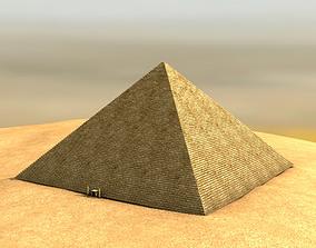 3D model Egyptian pyramid